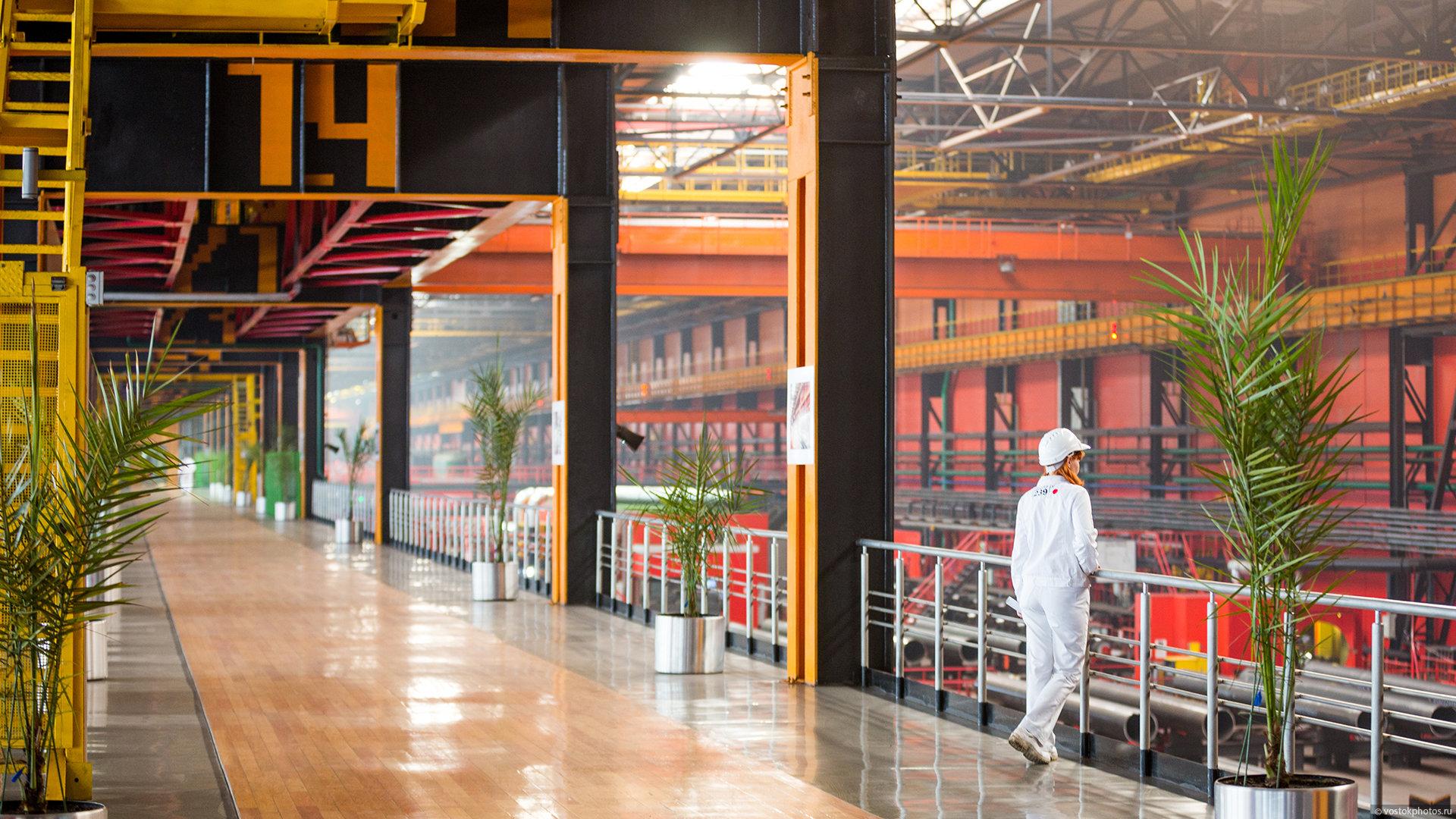 Фотографии челябинского трубопрокатного завода 2